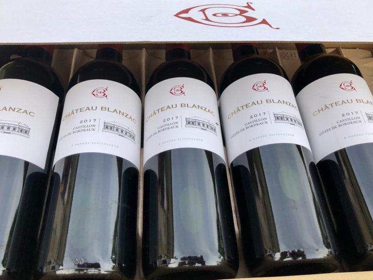 vin chateau blanzac 2017