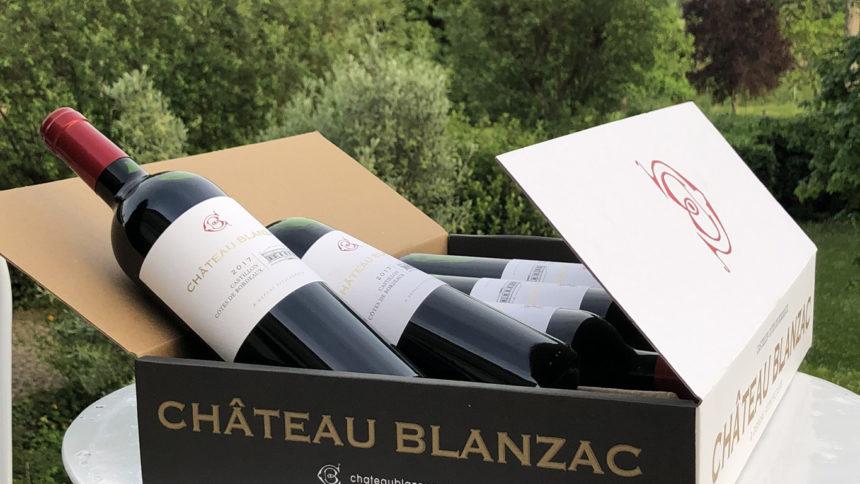 vin chateau blanzac 2017 carton