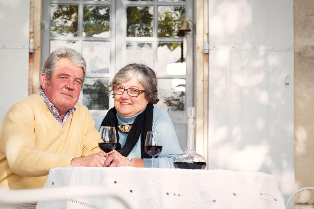 Bernard veronique Depons chateau blanzac vin bordeaux