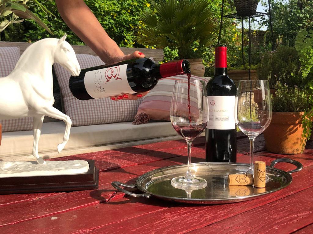 chateau blanzac vins degustation et service bordeaux