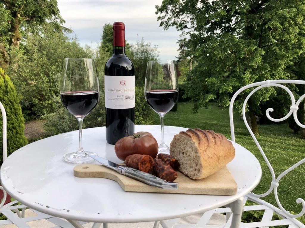 chateau blanzac vins gastronomie et art de vivre