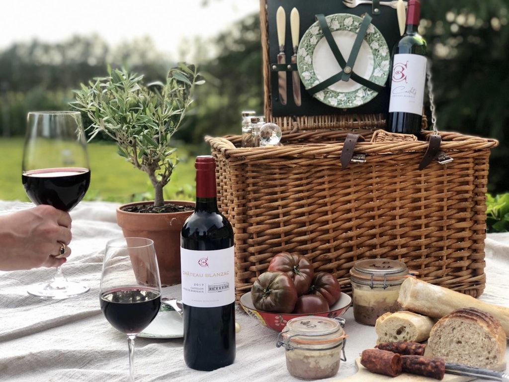 chateau blanzac vins pique nique et art de vivre